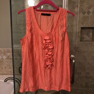 Limited coral blouse